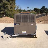 16 seer 2 stage York package heat pump